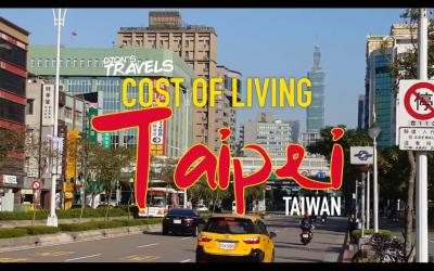 Cost of Living in Taipei, Taiwan