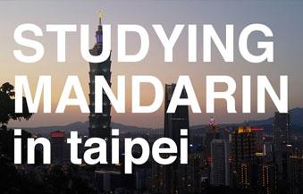 studying mandarin in taipei
