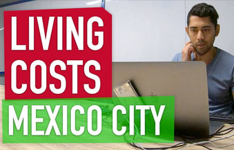 living costs mexico city